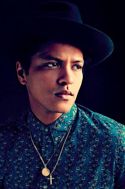 Bruno Mars, cantor.