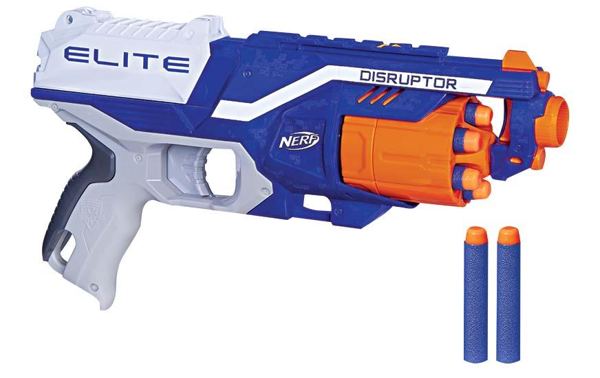 Lançador de dardos Nerf N-Strike Elite, R$ 89,99. PBKids