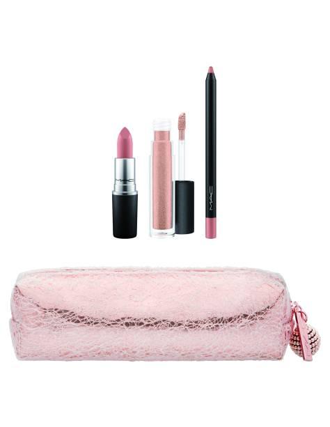 Pretty Polished Lip Bag em Nude, 229 reais