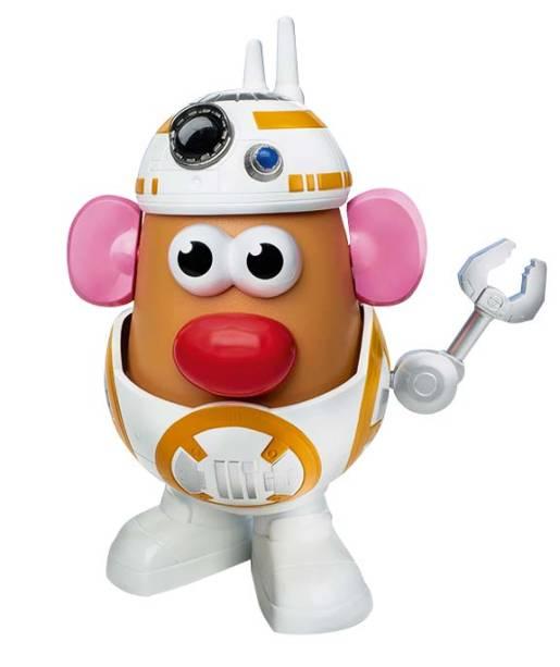 Boneco do personagem Mr. Potato Head, R$ 147,89. Zattini.
