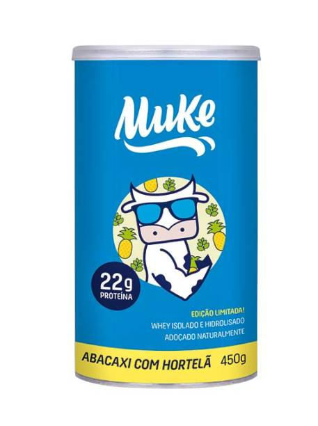 Suplemento alimentar em pó (450 g), R$ 140,00. Muke.