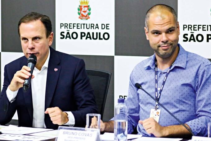 João Doria e Bruno Covas