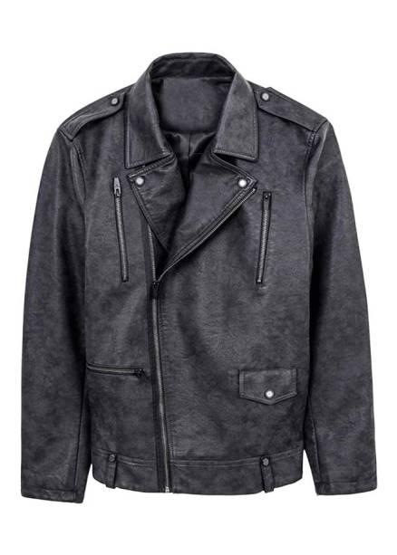 Jaqueta de couro, R$ 299,90. Renner.