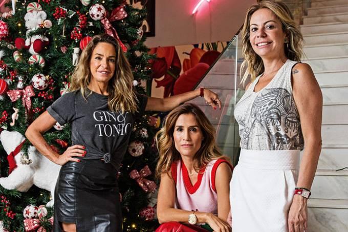Malu de Moura Andrade, Carola Diniz e Vivi Mascaro