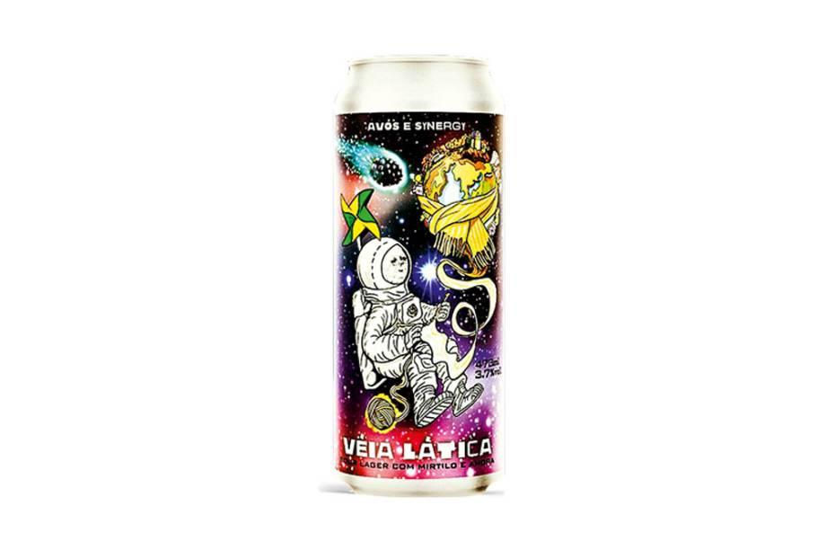 Véia Lática (Avós/Synergy): a bebida é azedinha e tem cor rosa, devido à adição de amora e mirtilo. Preço médio:R$ 32,90