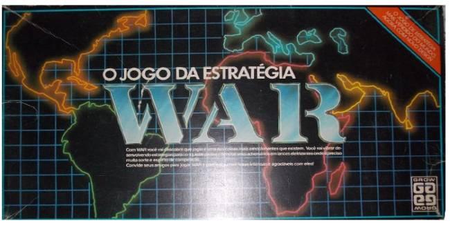 Os 45 Anos De Um Jogo Classico O War Da Grow Veja Sao Paulo