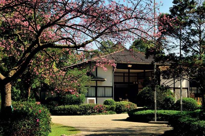 Pavilhão Japonês, no Parque do Ibirapuera.
