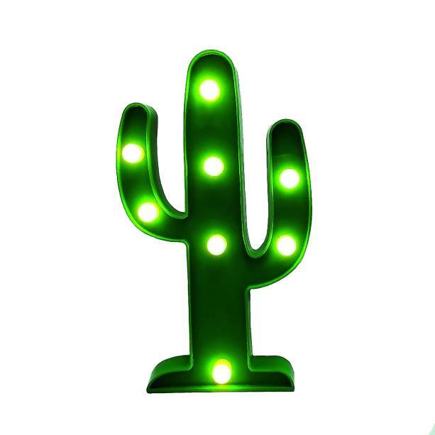 •Luminária Cacto, de plástico, 14 x 2,5 x 25cm, Americanas.com - R$39,90. Uma sugestão da MINHA CASA. Preço pesquisado em novembro/17