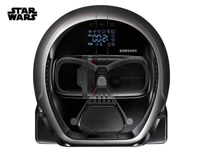 •Aspirador Darth Vader, da Samsung - $ 799,00. Uma sugestão da SUPERINTERESSANTE. Preço pesquisado em dezembro/17. www.samsung.com