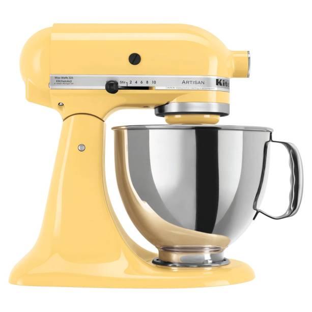 •Batedeira Stand Mixer Majestic Yellow, Kitchenaid - R$ 2499,00. Uma sugestão de CASA CLAUDIA. Preço pesquisado em novembro/2017 www.gotoshop.com.br