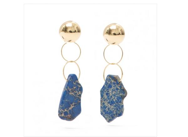 •Brinco, Luiza Dias - R$ 128,00. Uma sugestão de Elle. Preço pesquisado em dezembro/2017
