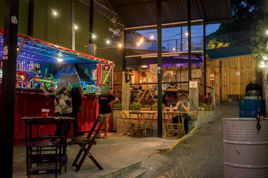 Goela Bar: o espaço informal