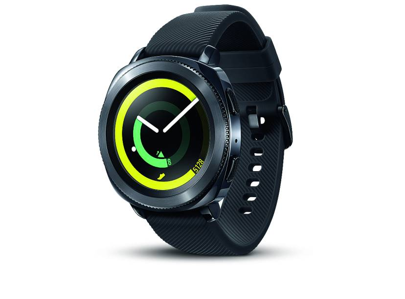 •Relógio Gear Sport, Samsung. R$ 1 899,00. Uma sugestão de VIP. Preço pesquisado em novembro/2017.