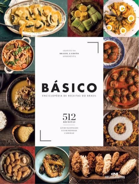 •Livro de culinária Básico: Enciclopédia de Receitas do Brasil, da chef Ana Luiza Trajano. R$120,00. Uma sugestão de CLAUDIA. Preço pesquisado em novembro/2017. Disponível aqui: https://www.travessa.com.br