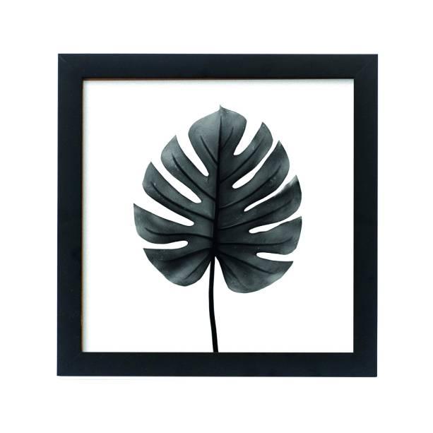 •Quadro Monstera Black, de MDF com borda natural, no tamanho 20 x 20cm. Decohouse - R$39,90. Uma sugestão da MINHA CASA. Preço pesquisado em novembro/17