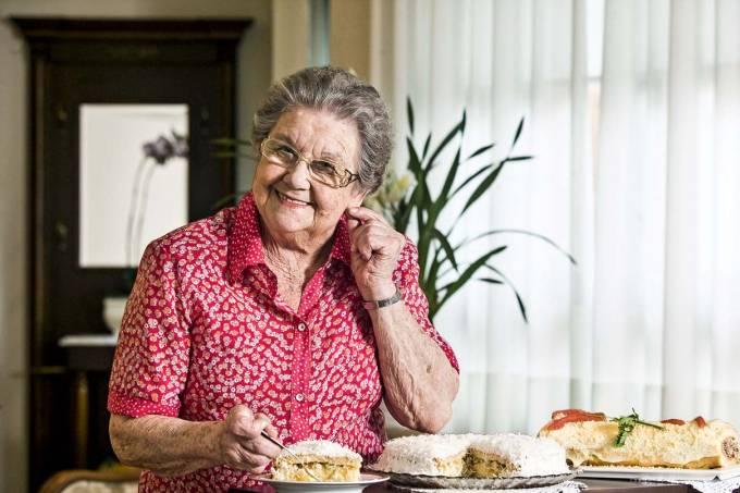 Palmirinha Onofre, culinarista.