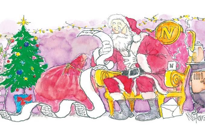 Crônica Ivan Angelo Listinha de Natal