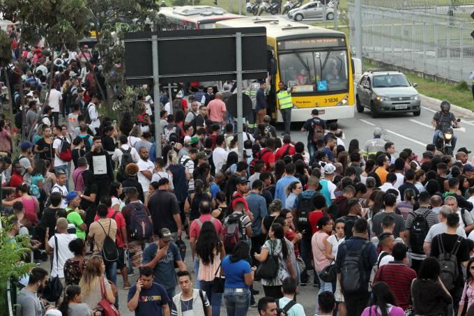 GREVE DO METRÔ EM SÃO PAULO