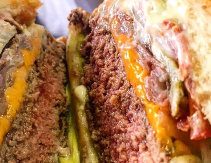 Sampa burger: bifão de 180 gramas