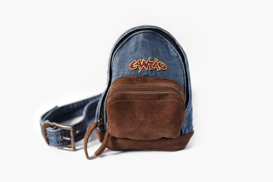 Pochete em formato de mochila - Cantão (R$ 199,00)