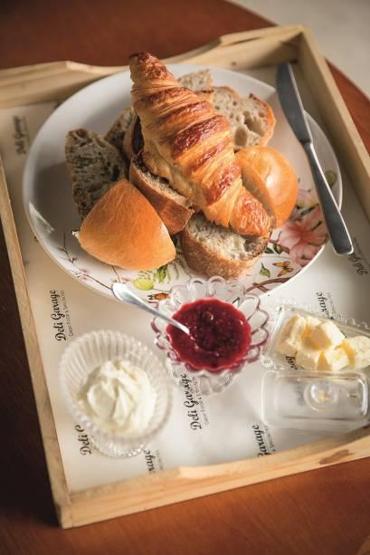 Opção fixa: cesta de pães (R$ 24,00)