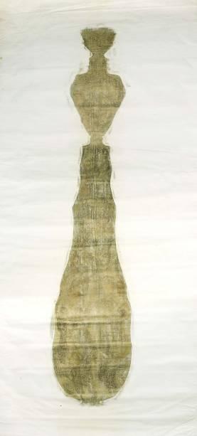 Desenho para Eixo Exógeno, uma das obras exibidas na exposição