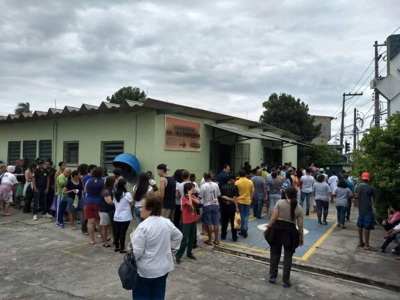 UBS Vila Chabilândia recebeu um estoque de 3 000 doses