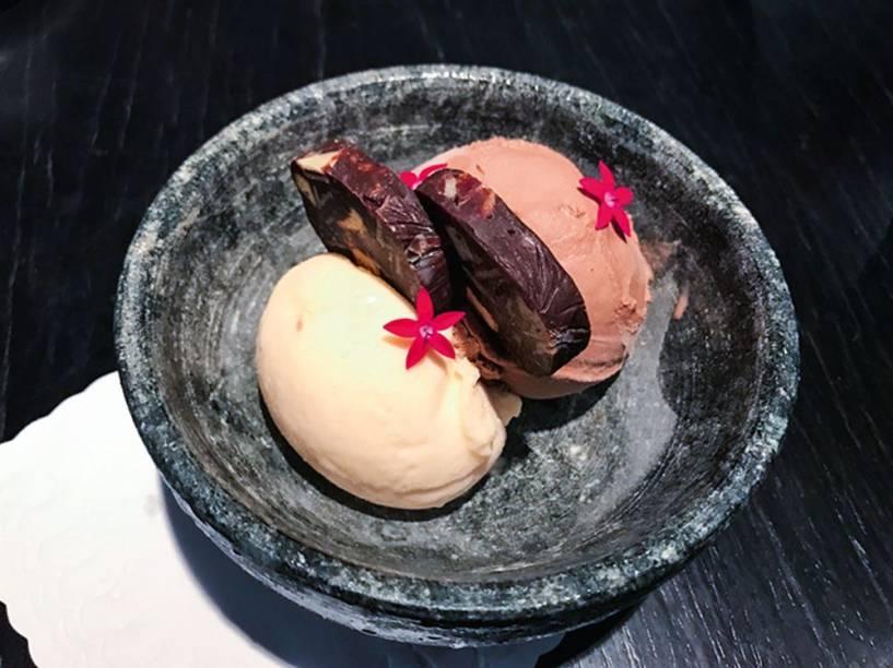 Due de sorvetes: vai na companhia de salame de chocolate (R$ 17,00)