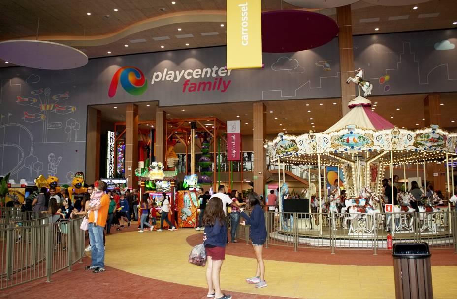O novo Playcenter tem capacidade para 5 000 pessoas