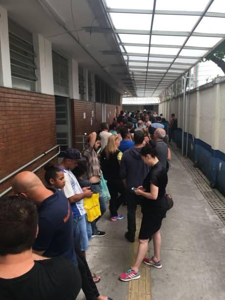AMA Santa Cecília: fila de espera de 1 hora