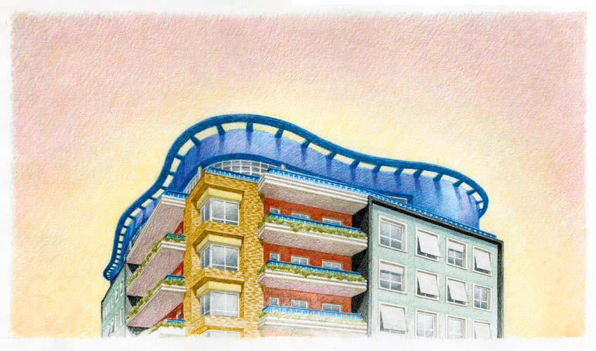 Desenho do Edifício Planalto
