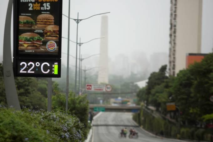 DIA CHUVOSO EM SÃO PAULO