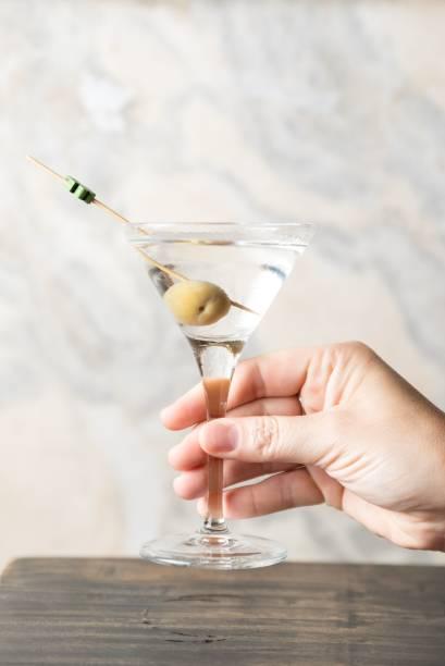 Dry martíni na versão míni