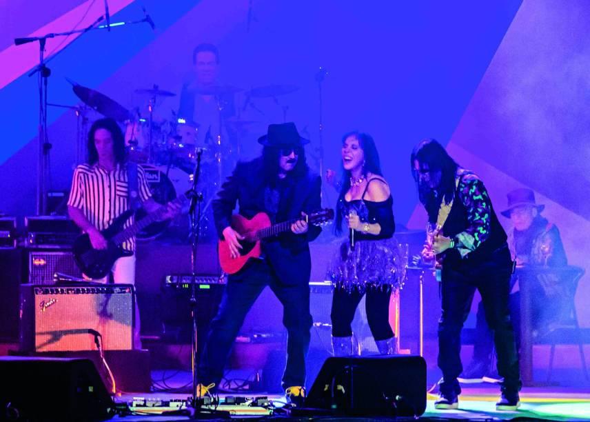 Moraes Moreira, Baby do Brasil e Pepeu Gomes, integrantes da banda Novos Baianos.