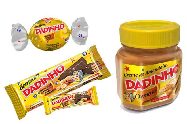 Novos produtos Dadinho