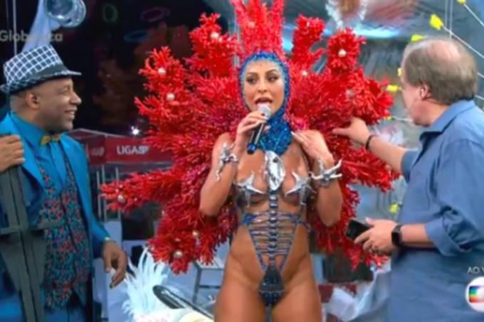 Sabrina Sato na Globo: ela roubou a cena