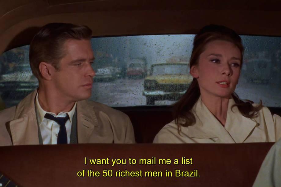 Brasil pelos olhos do filme Bonequinha de Luxo (1961)