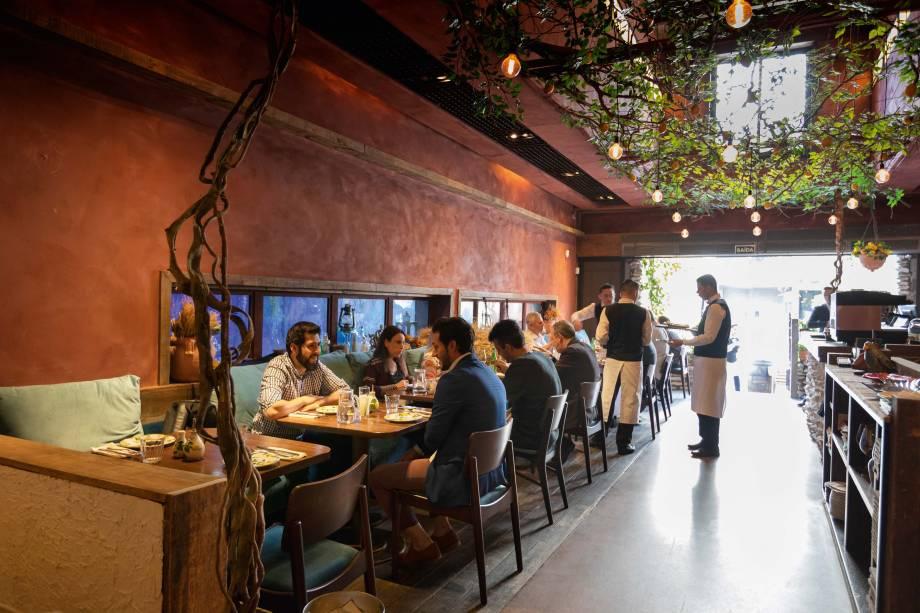 Da Marino: ambiente informal com uma culinária italiana que passeia pelo mar