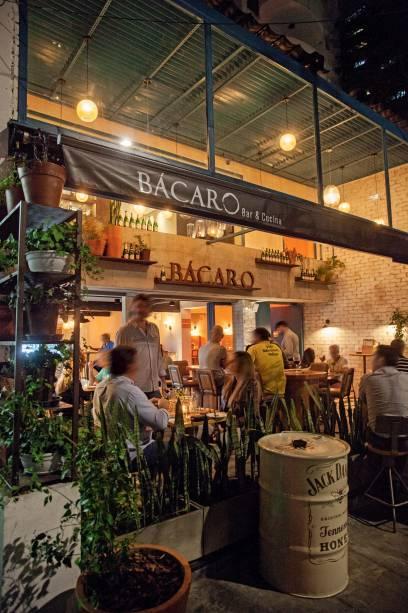 Varanda agradável do Bácaro Bar & Cucina