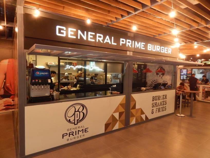 General Prime Burger: unidade expressa na praça de alimentação do Jardim Pamplona Shopping