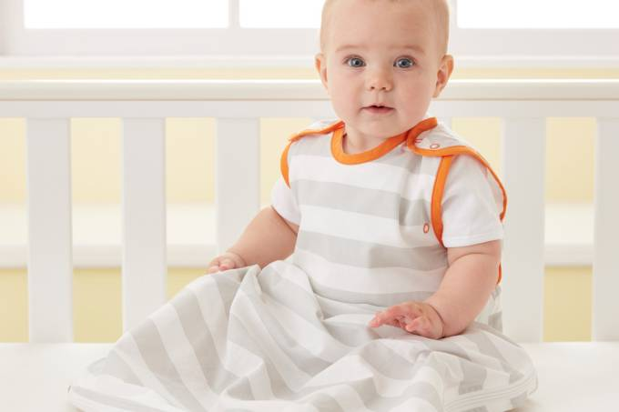 Grey Stripe – Insect Shield_Grobag1 – Euro Baby