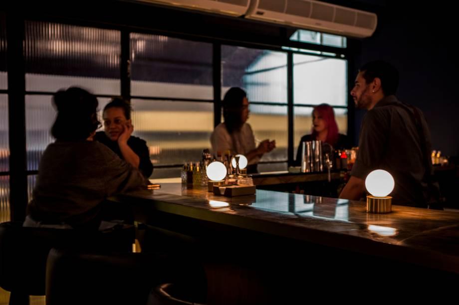 Fel: bar fica no Edifício Copan