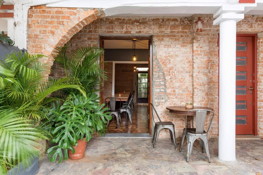 Fachada do Tucupi: casa da Vila Mariana transformada em restaurante