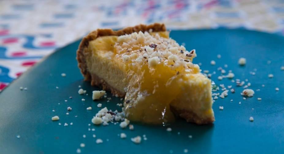 Na lista de sobremesas: cheesecake de cupuaçu