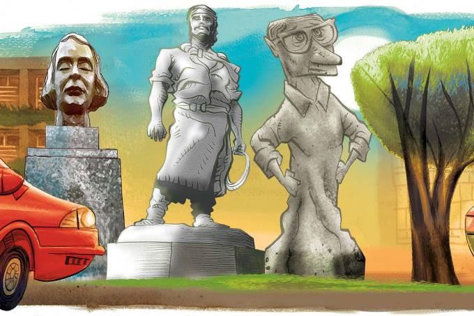 Crônica Mário Viana Brincar de estátua