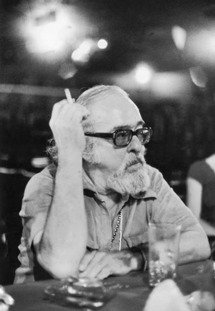Vinícius de Moraes, poeta e compositor.