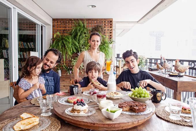 Café da manhã vegano
