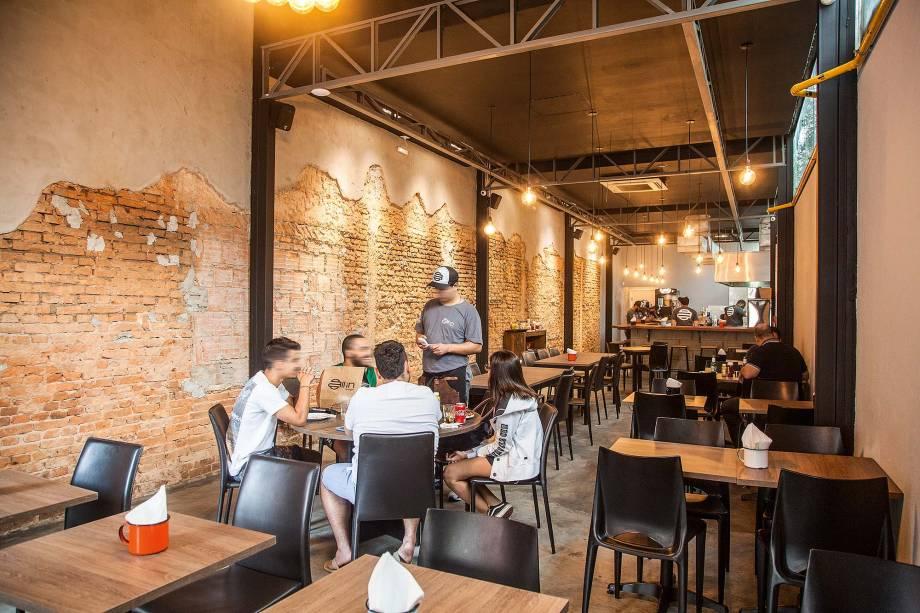 Ambiente da nova filial do Itaim Bibi
