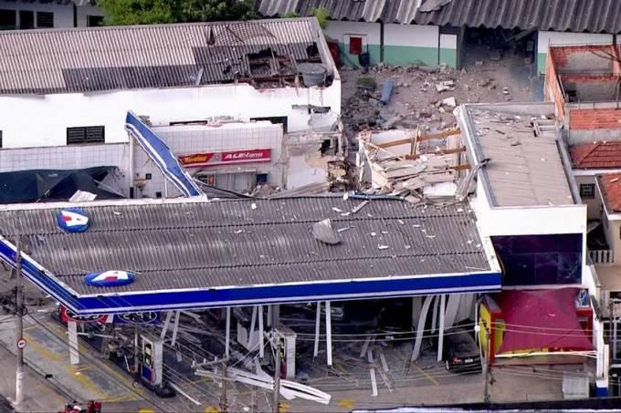 Explosão posto gasolina Zona Norte
