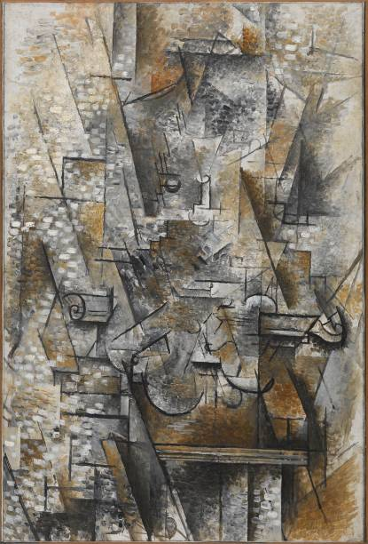 Georges Braque, Natureza morta com violino, 1911